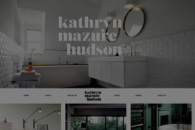 KMH Homepage Web Design