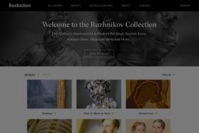 ruzhnikovhomepage web design