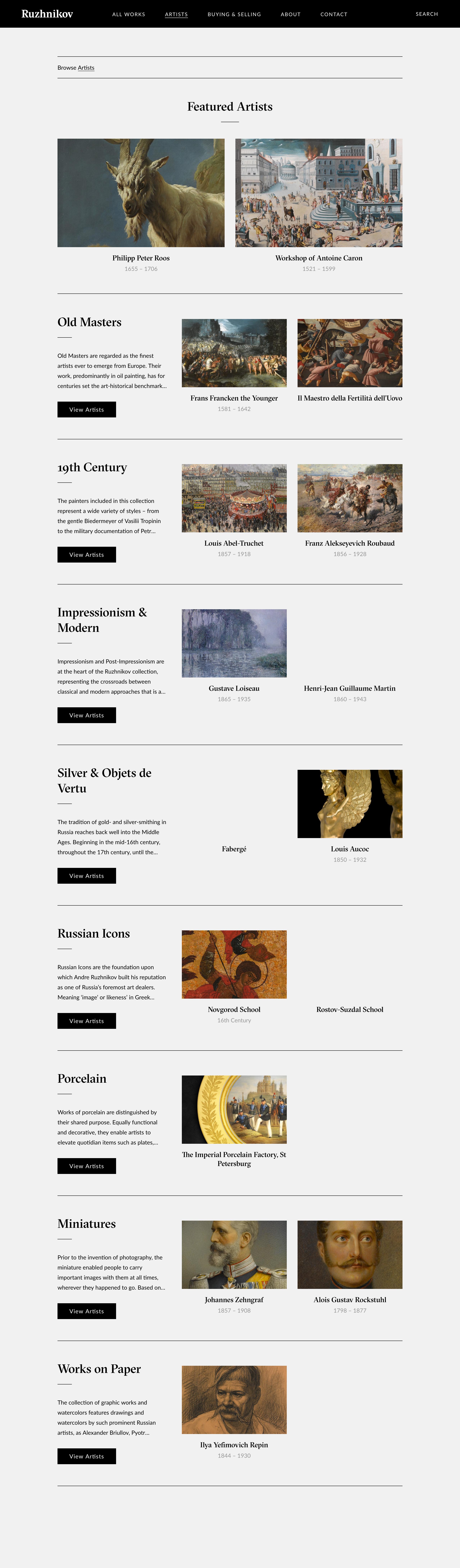 ruzhnikov inner page design