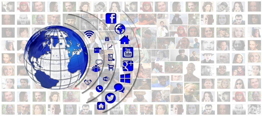 4social media profiles