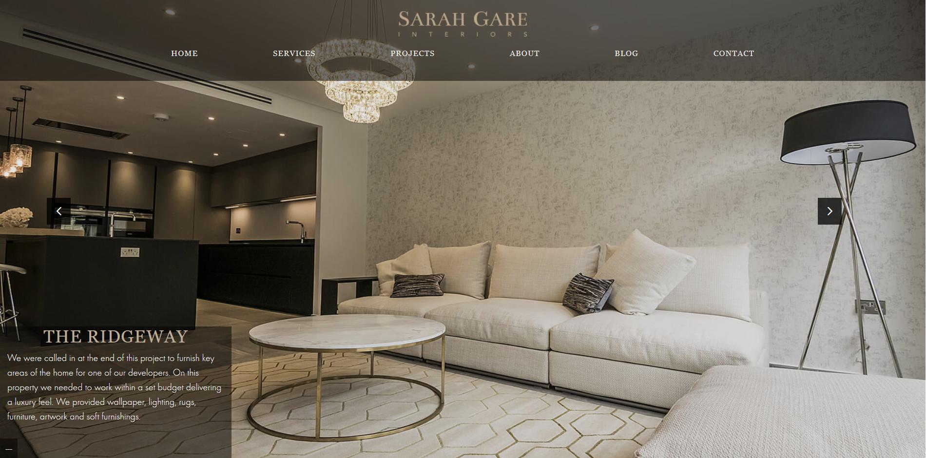 Sarah Gare interiors Portfolio Page2