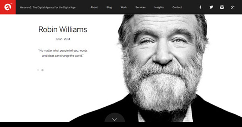 Black and White Palettes - Web design London